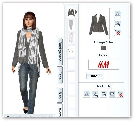 Combinaciones de ropa para mujer