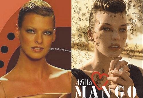 Milla Jovovich vs Linda Evangelista