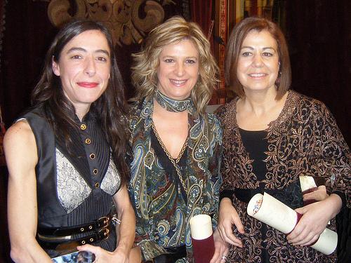 Yolanda con Miriam y Mercedes