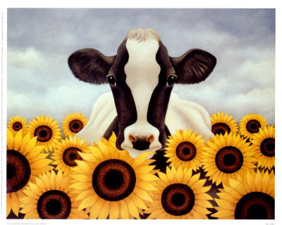 ab10282~Surrounded-By-Sunflowers-Posters