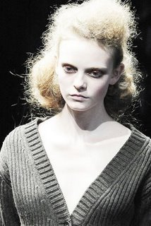 Prada Fall 2009 Show Casting Director Russell Marsh Women Management New York Blog Nimue Smit deatails 2