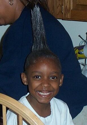 cresta de pelo