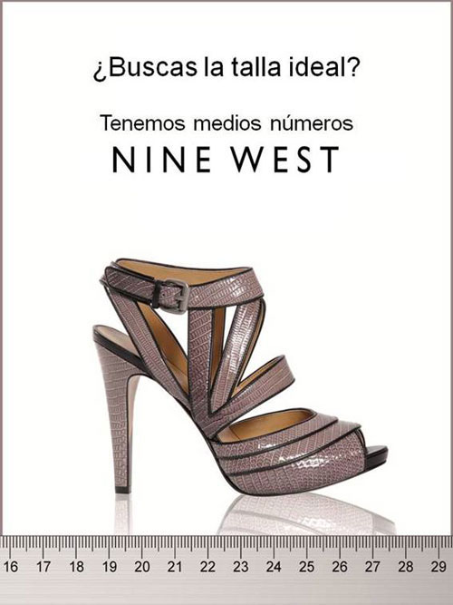 La Talla Ideal De Zapatos Existe Con Nine West Bellezapura