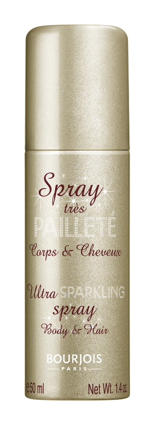 5 BOURJOIS SPRAY TRES PAILLETE_Or