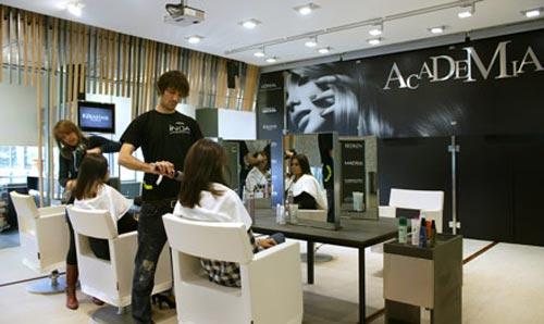 La academia de l or al abre en madrid un centro de for Iluminacion para peluquerias