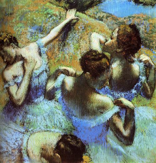 Pintura de Degas