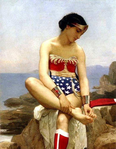 El descanso de la Superwoman.