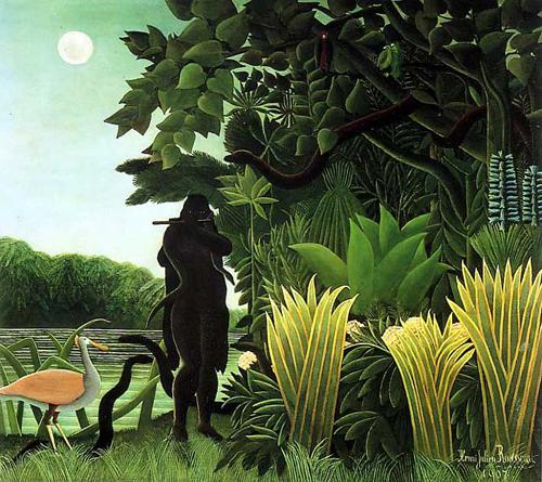 """""""La encantadora de serpientes"""", de Rousseau"""
