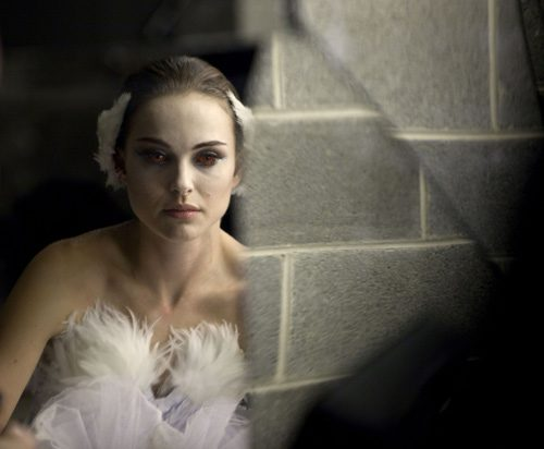 cisne negro bailarina maquillaje