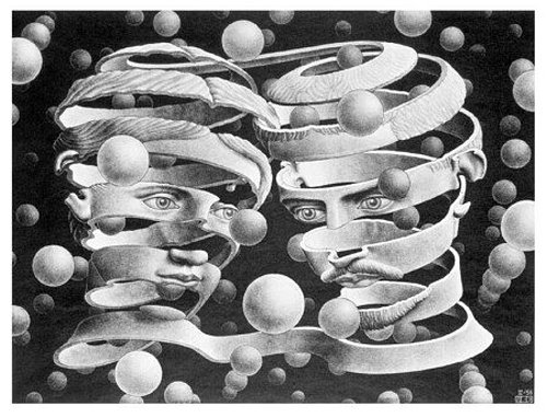 """Bond of union"", de Escher"