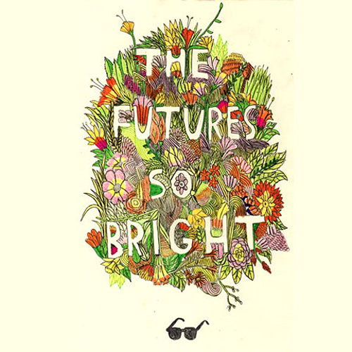 """The future is so bright"", del ilustrador Andy J. Miller"