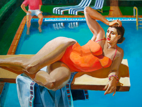 'The diving board', Marie Fox