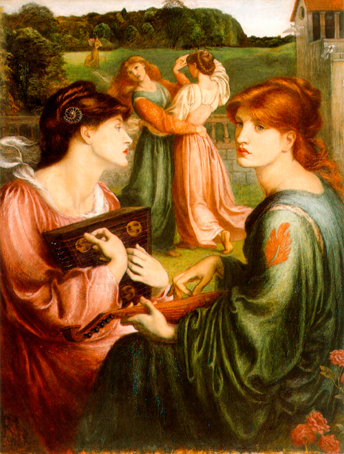 'The Bower Meadow', Dante Gabriel Rosetti