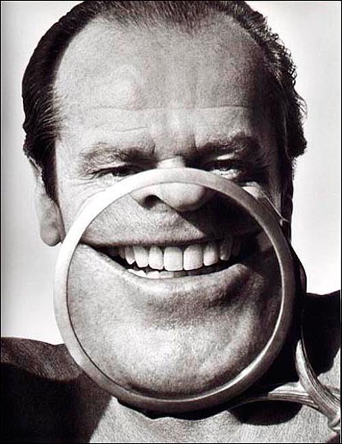Jack Nicholson en 1986, una fotografía de Herb Ritts