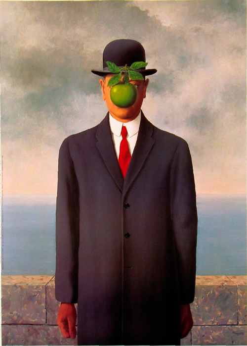 'The son of man', Rene Magritte