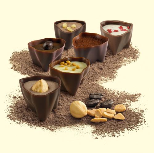 Nuevas variedades de bombonde artesanos. Cortesía de Delaviuda.