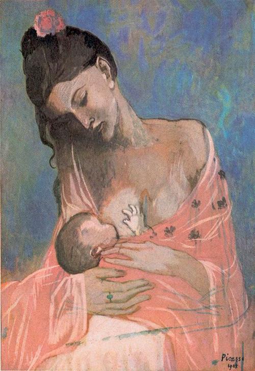 'Maternidad', Pablo Picasso
