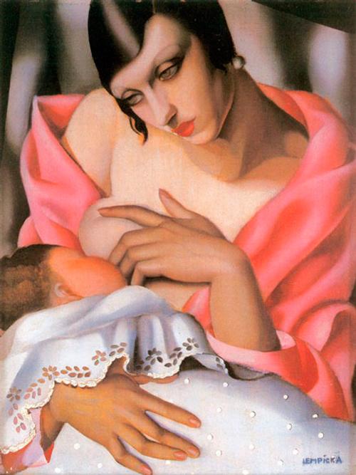 'Maternidad', Tamara Lempicka