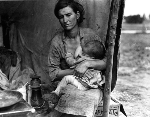 'Migrant mother', Dorothea Lange