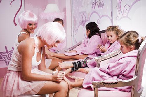 spa niñas