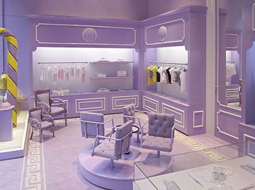 Interior de Young Versace