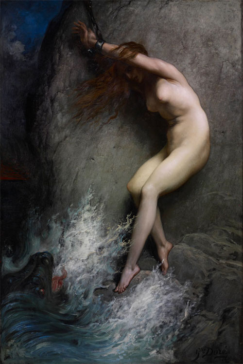 """Andrómeda"", de Gustave Doré"