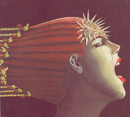 pintura dolor de cabeza