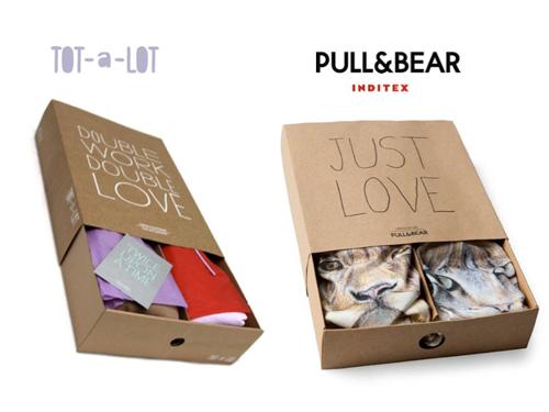 imagen del diseño de TOT-a-LOT y de Pull & Bear
