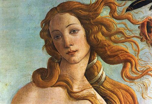 """Imagen del cuadro """"El nacimiento de Venus"""" de Sandro Botticelli"""