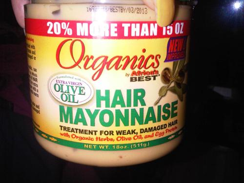 mascarilla pelo mayonesa