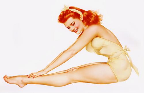 mujer piernas bronceadas
