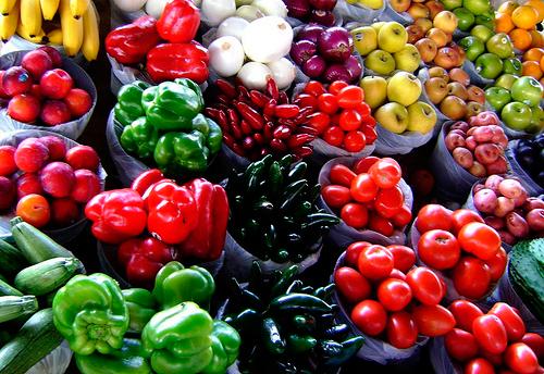 Imagen de frutas y verduras