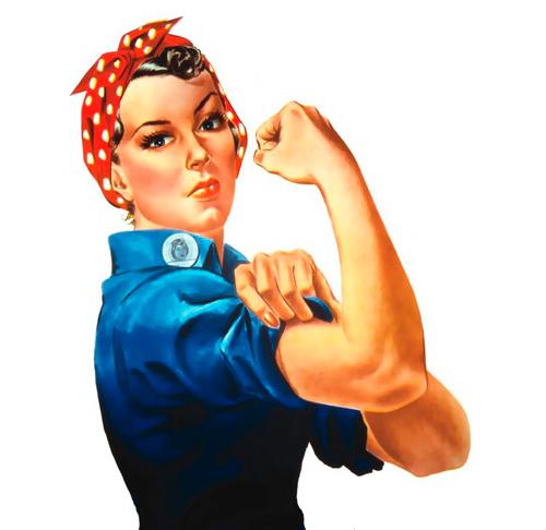 Mujer enseñando el brazo