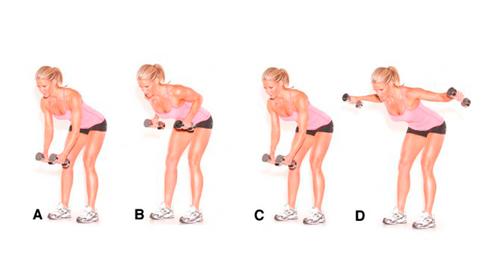 Ejercicios 4 y 5 para tonificar los brazos
