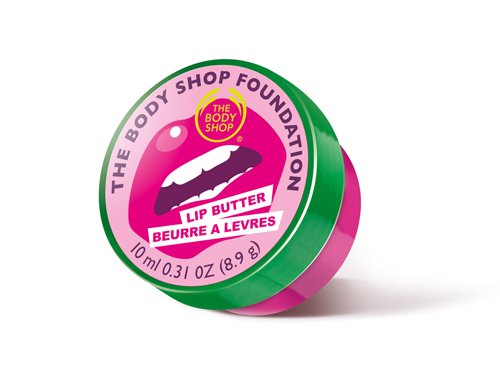 Manteca labial de The Body Shop