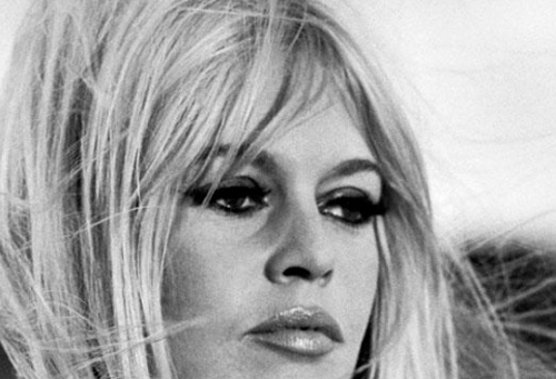 Foto de los ojos de Brigitte Bardot