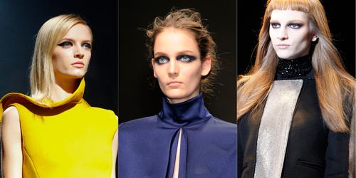 Tendencias de Lanvin, Gianfranco Ferre y Versace