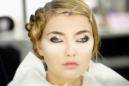 armani proceso maquillaje