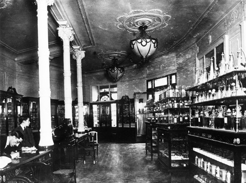 Imagen del interior de la primera tienda de Álvarez Gómez