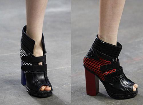 Tedencia botines peep toes: proenza-schouler