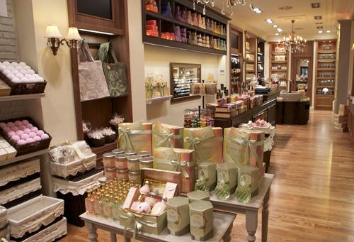 Foto de la tienda Sabon en Barcelona