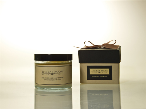 deluxe oil salt scrub & box