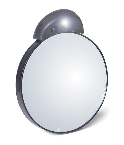 Espejo de aumento con luz de Tweezerman