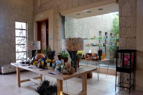 Imagen de la recepción del Spa Gran Hotel Bahía del Duque