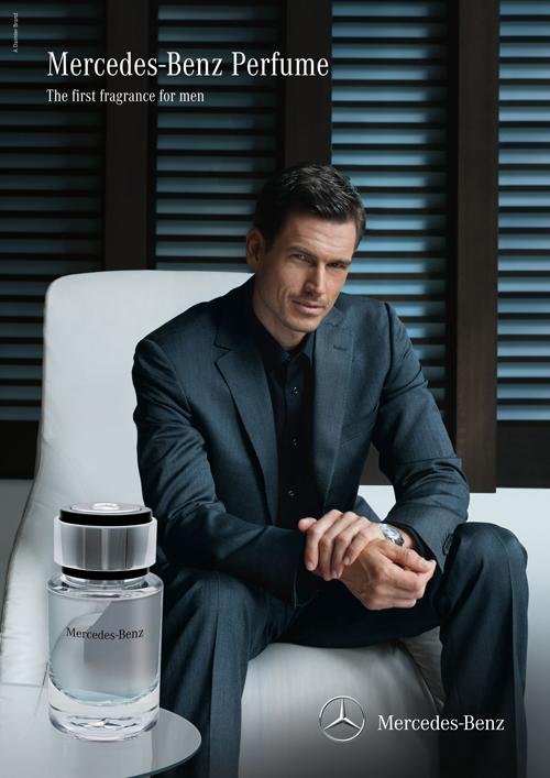 Imagen de la publicidad de Mercedes-Benz Perfume