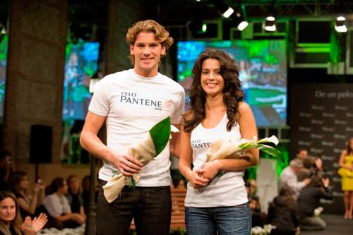 Imagen de los primeros ganadores del Movimiento Pelo Pantene