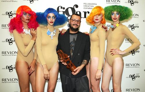 Xavi García de Salon 44 premio Peluquero Español del Año