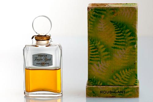 La botella original de Fougère Royale de 1882