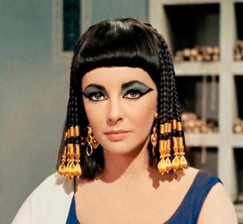 """Imagen de Elizabeth Taylor en """"Cleopatra"""""""