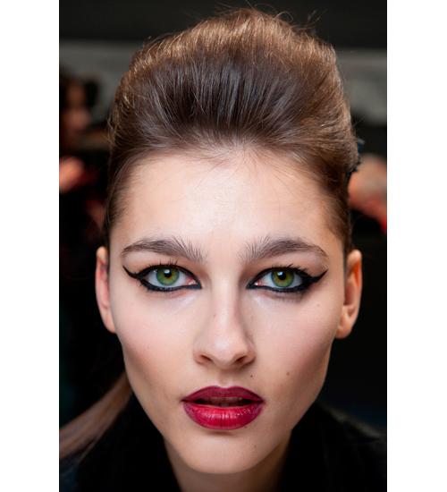 Maquillaje de ojos del desfile de John Richmond